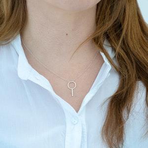 Väsen - Kort Halsband i Återvunnet Silver