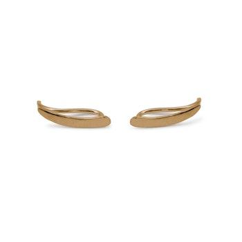 18k Ear Climber Barr – Örhänge i Återvunnet Guld