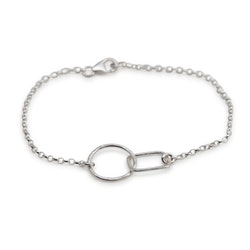 Björk - Armband i Återvunnet Silver