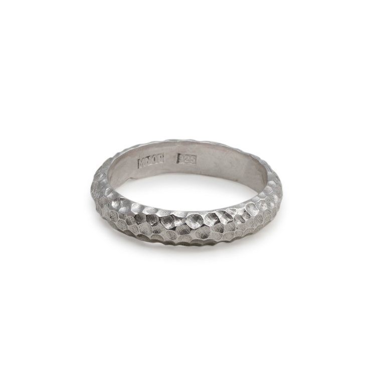 Svall Ring 4 mm Återvunnet Silver
