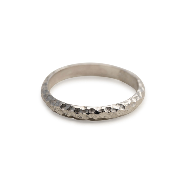 Svall Ring 3 mm Återvunnet Silver