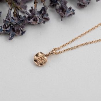 18k Frö Berlock - Halsband i Återvunnet Guld