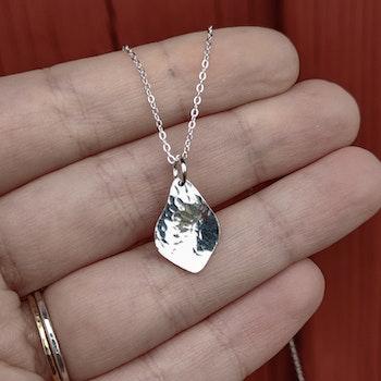 Bris Halsband Återvunnet Silver