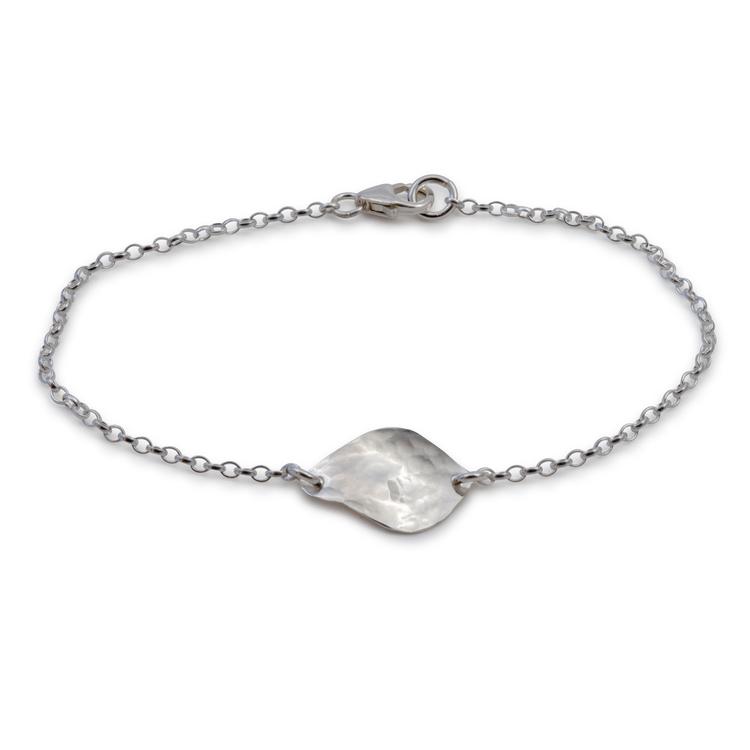 Bris Armband Återvunnet Silver