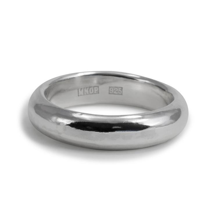 Handgjord silverring Återvunnet silver