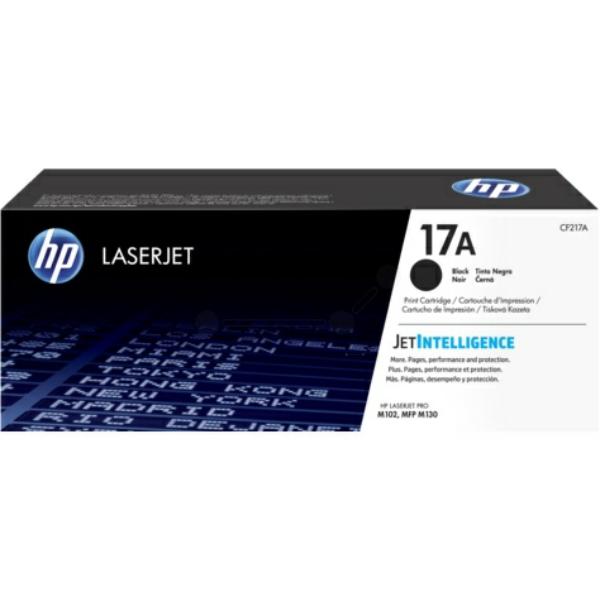 Laserttoner 17A 1600sidor Original HP