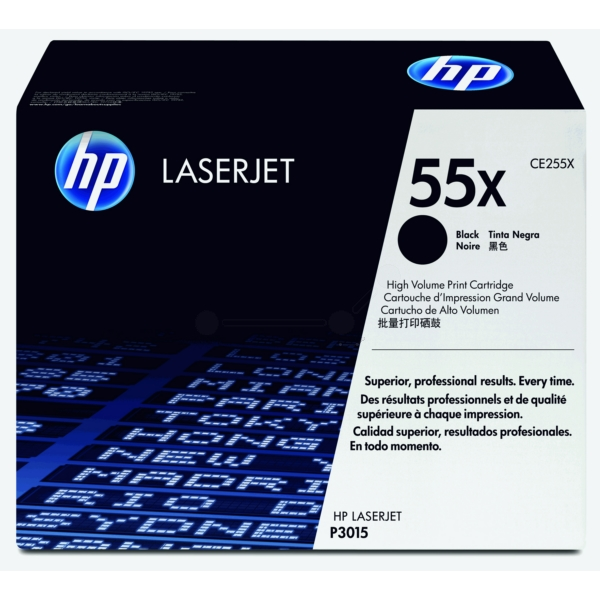 Lasertoner CE255X - 55X - 12500sidor - HP original