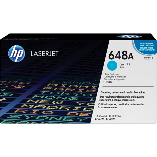 Lasertoner CE261A Blå/cyan - 11000sidor - HP original