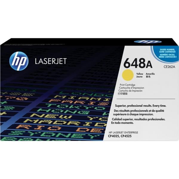 Lasertoner CE262A Gul - 11000sidor - HP original
