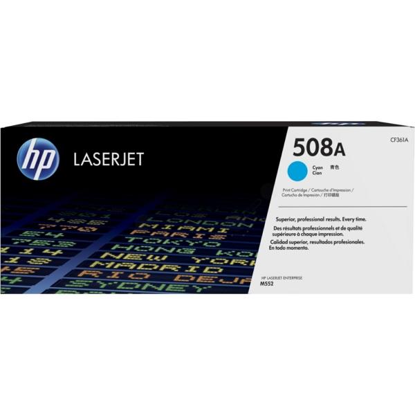 Lasertoner CF361A Blå/cyan - 508A - 5000sidor - HP original