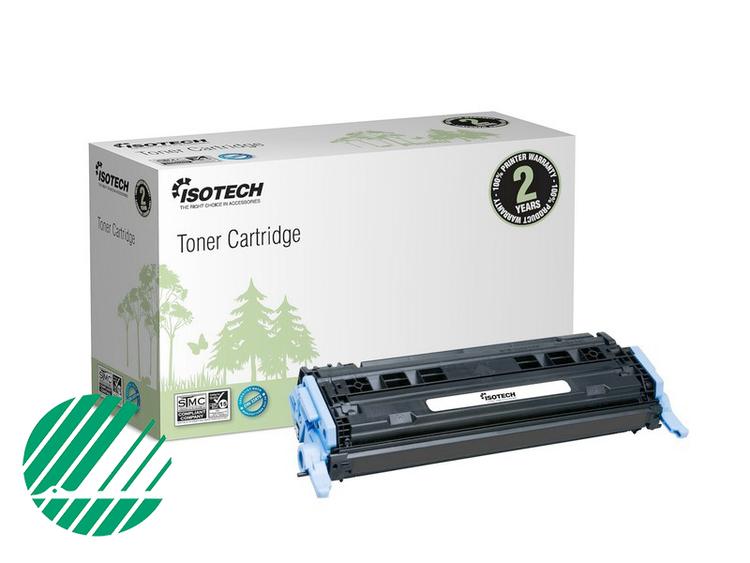 Lasertoner Svart för HP Q6000A - 2500sidor - Kompatibel Isotech