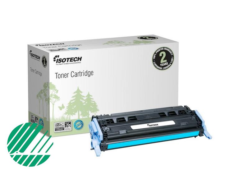 Lasertoner Blå/cyan för HP Q6001A - 2000sidor - Kompatibel Isotech