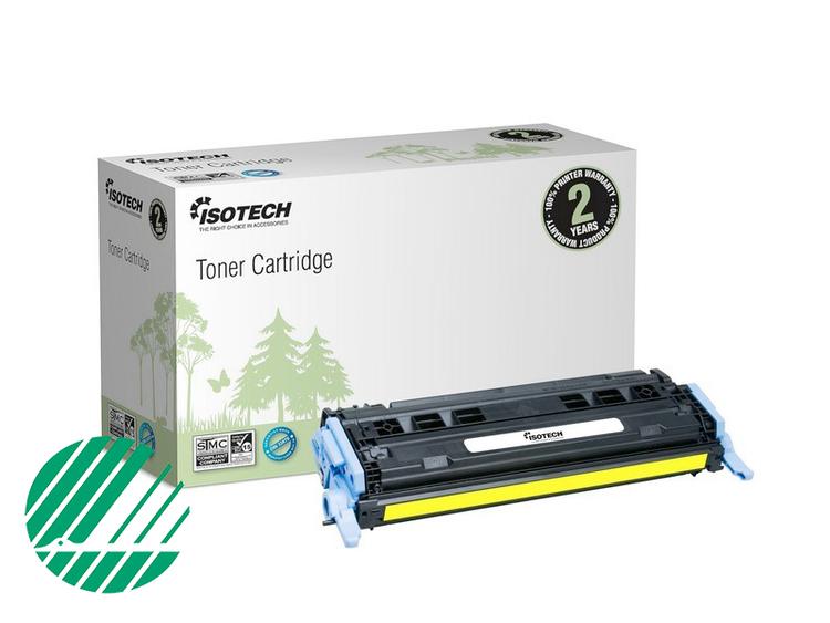 Lasertoner Gul för HP Q6002A - 2000sidor - Kompatibel Isotech
