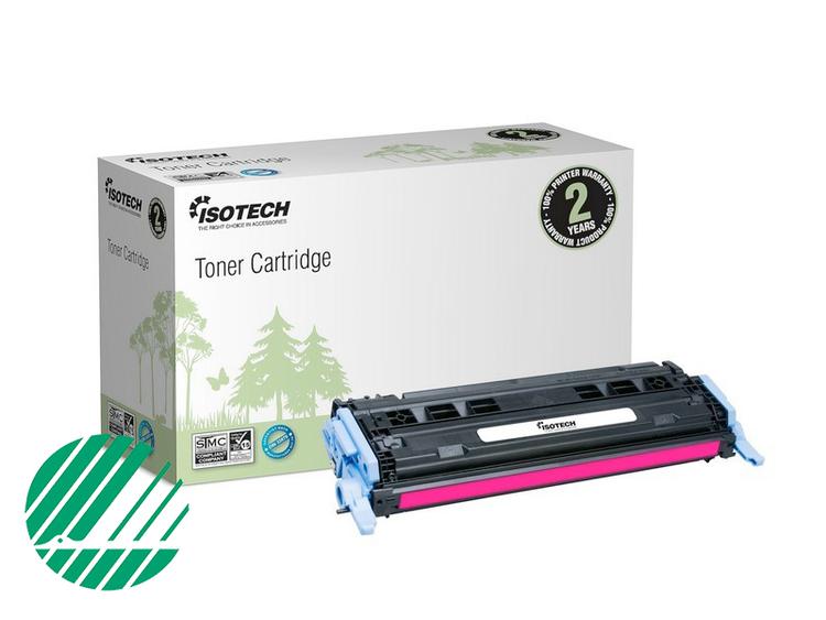 Lasertoner Röd/magenta för HP Q6003A - 2000sidor - Kompatibel Isotech
