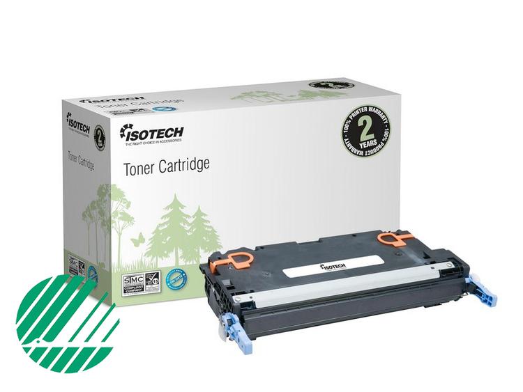 Lasertoner Svart för HP Q6470A - 6000sidor - Kompatibel Isotech