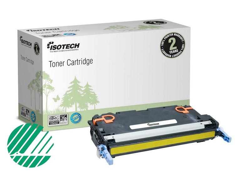 Lasertoner Gul för HP Q7582A - 6000sidor - Kompatibel Isotech