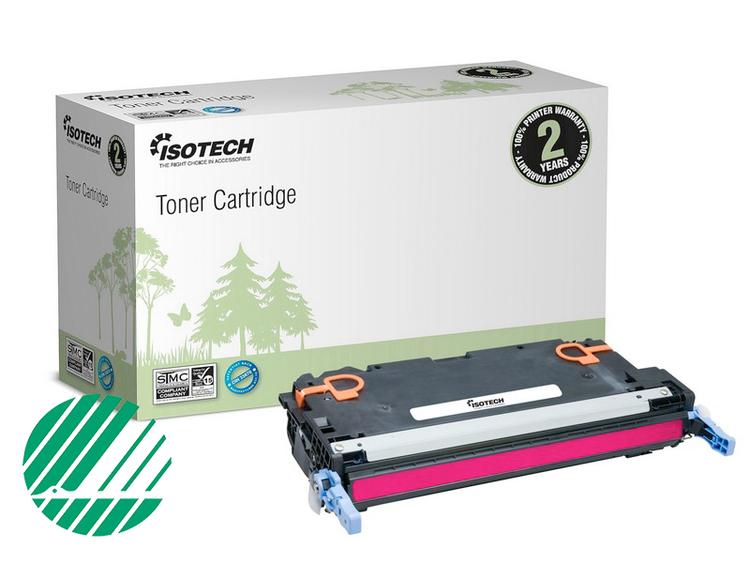 Lasertoner Röd/magenta för HP Q7583A - 6000sidor - Kompatibel Isotech