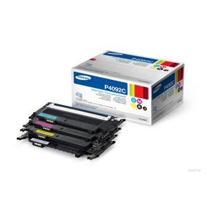 Toner CLT-P4092C - Alla färger=Svart/blå/gul/röd - original