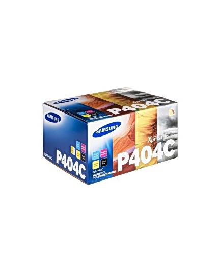 Toner CLT-P404C - Alla färger=Svart/blå/gul/röd - original
