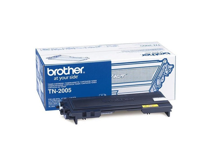 Lasertoner Brother TN-2005 - 1500sidor - original