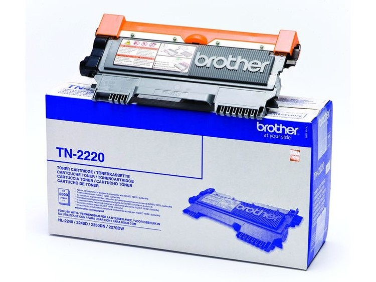 Lasertoner Brother TN-2220 - 2600sidor - original