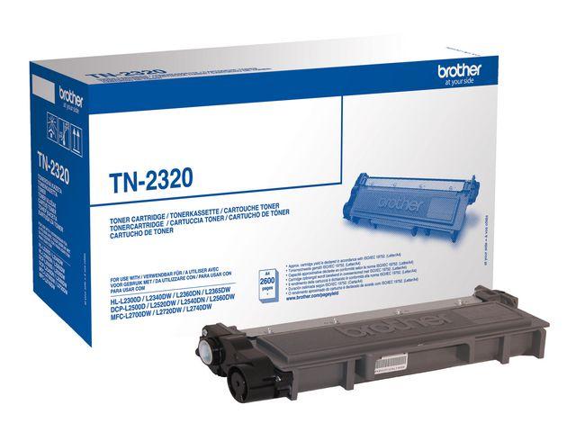 Lasertoner Brother TN-2320 - 2600sidor - original