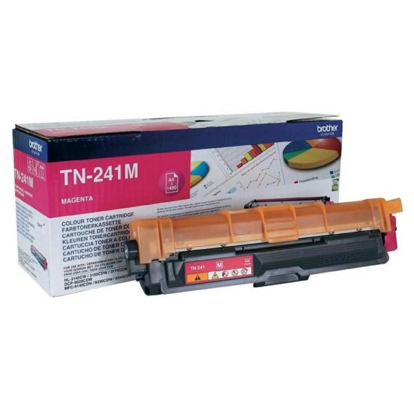 Toner TN241M - Röd/magenta 1400sidor - original