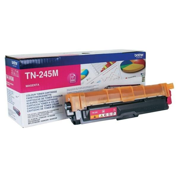 Toner TN245M - Röd/magenta 2200sidor - original
