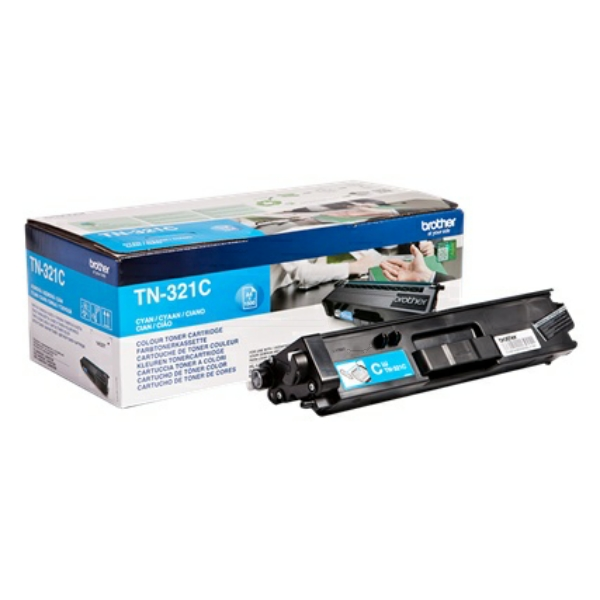 Toner TN321C - Blå/cyan 1500sidor - original