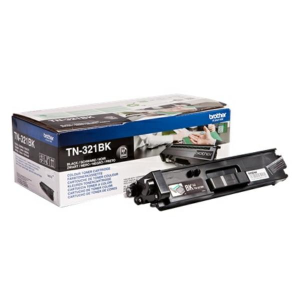 Toner TN321BK - Svart 2500sidor - original