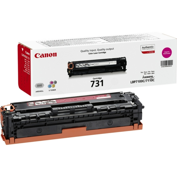 Lasertoner 731 Röd/magenta - 6270B002 - 1500sidor - original