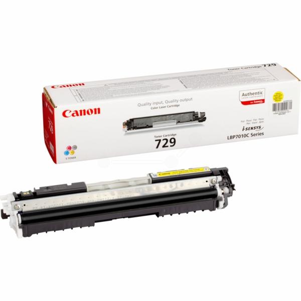Lasertoner 729 Gul - 4367B002 - 1000sidor - original