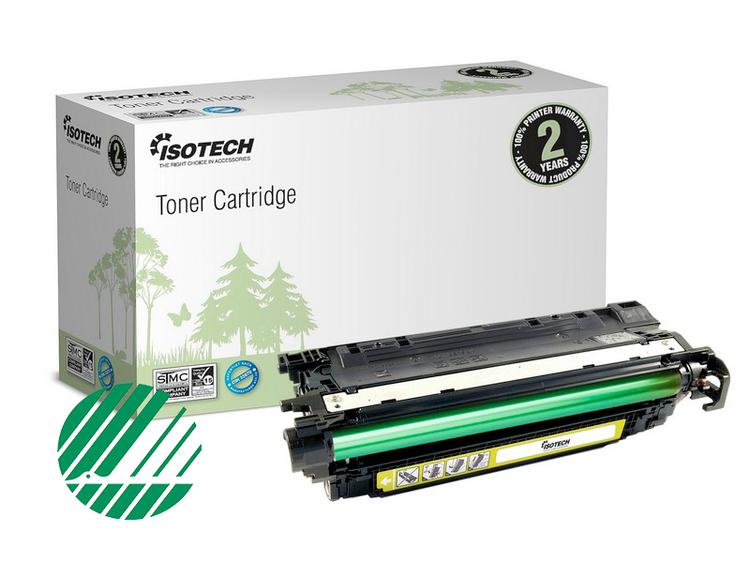 Toner 723 kompatibel för 2641B002 -  Gul 7000sidor Isotech