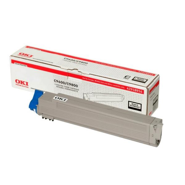 Toner OKI C9600/C9650 - Svart 15000sidor - original