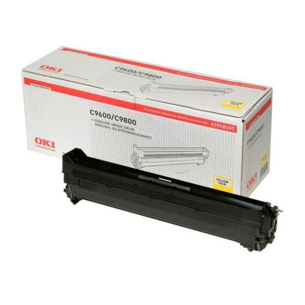 Trumma OKI C9600/C9650 - Gul 30000sidor - original