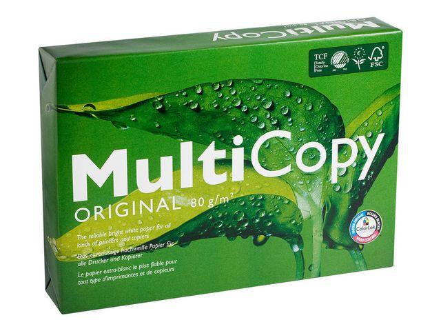 Papper MultiCopy A3 ohålat 80g 500ark