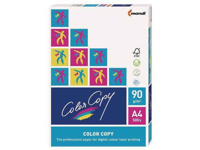 Papper ColorCopy A4 ohålat 90g 500ark