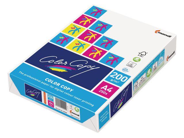Papper ColorCopy A4 ohålat 200g - 250ark
