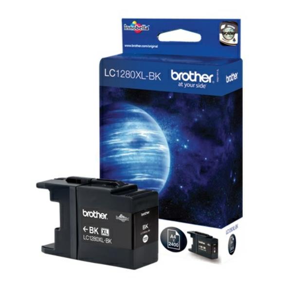 Brother bläck LC-1280XL svart - original
