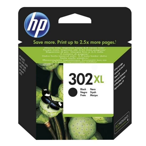 HP bläck 302XL svart 480sidor - original