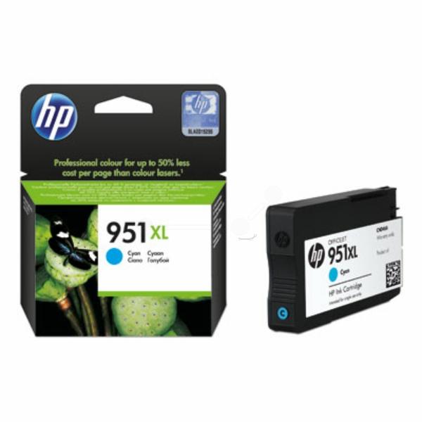 HP bläck 951XL blå/cyan 1500sidor - original