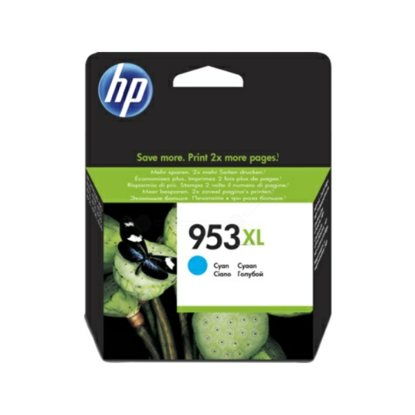 HP bläck 953XL blå/cyan 1600sidor - original