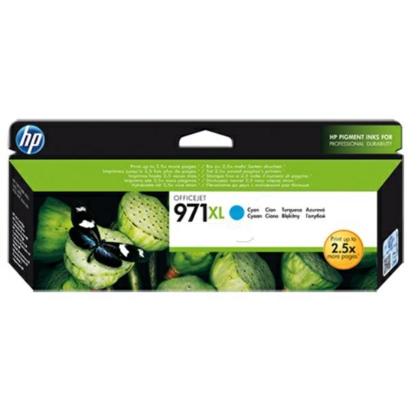 HP bläck 971XL blå/cyan 6600sidor - original