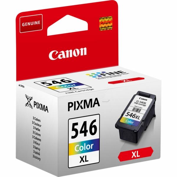 Canon bläck CL-546XL 3färgspatron C/M/Y 300sidor - original
