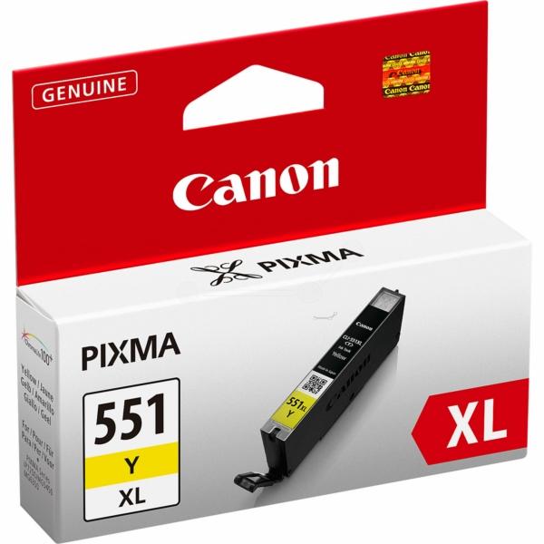 Canon bläck CLI-551XL Gul 690sidor - original