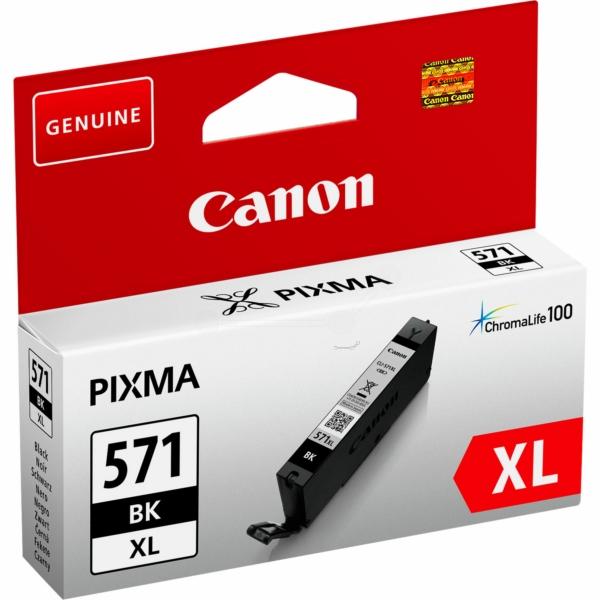 Canon bläck CLI-571XL svart 800sidor - original