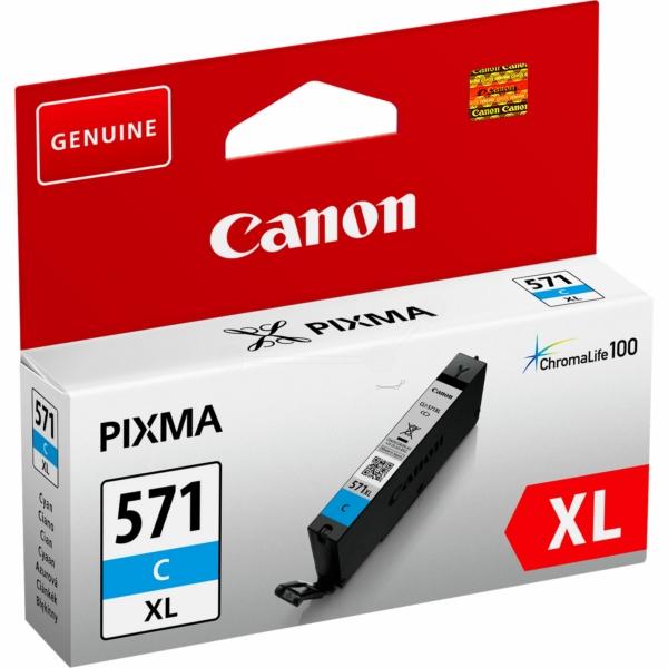 Canon bläck CLI-571XL Blå/cyan 715sidor - original