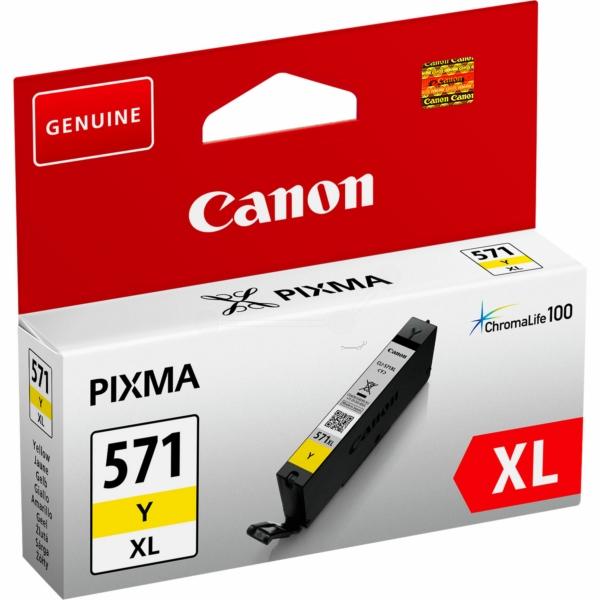 Canon bläck CLI-571XL Gul 715sidor - original