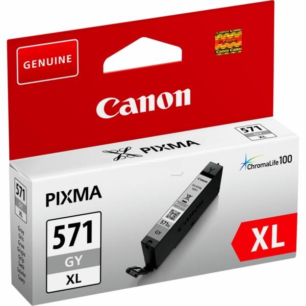 Canon bläck CLI-571XL Grå 715sidor - original