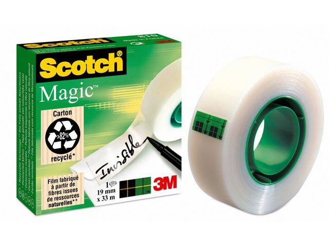 Dokumenttejp Scotch 810 19mm x 33meter
